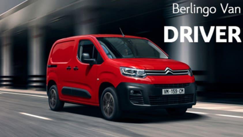 Citroën Berlingo Van bestelwagen uitvoering Driver