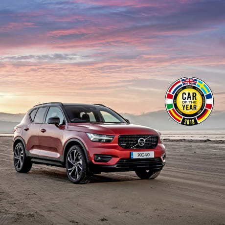 New Volvo Xc40 Named 2018 European Car Of The Year Helston Garages