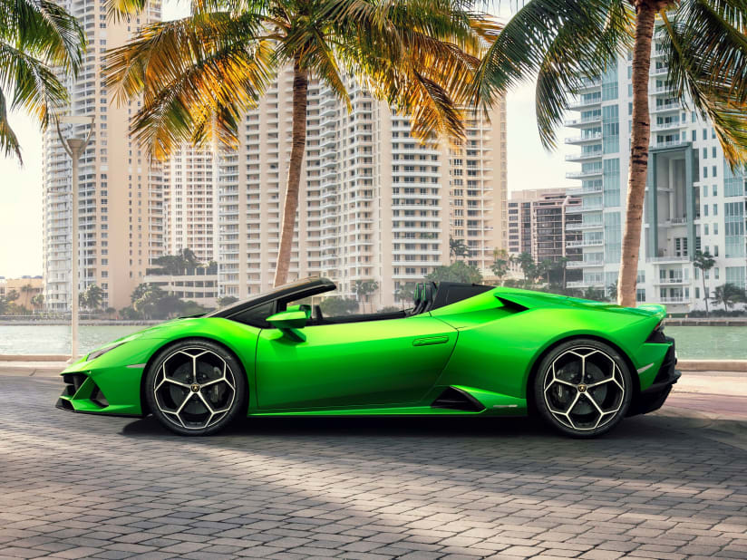 New Lamborghini Huracan Evo Spyder For Sale Jardine Motors Lamborghini