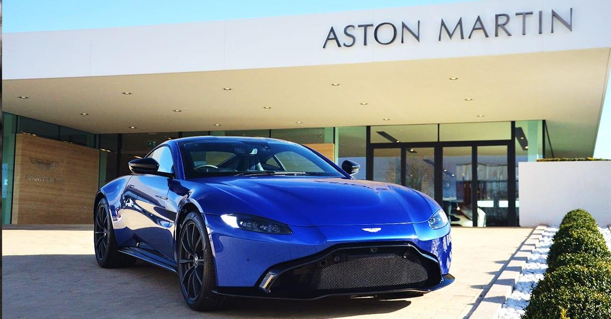 Martins Auto Service >> Driving The All-New Aston Martin Vantage   Aston Martin ...
