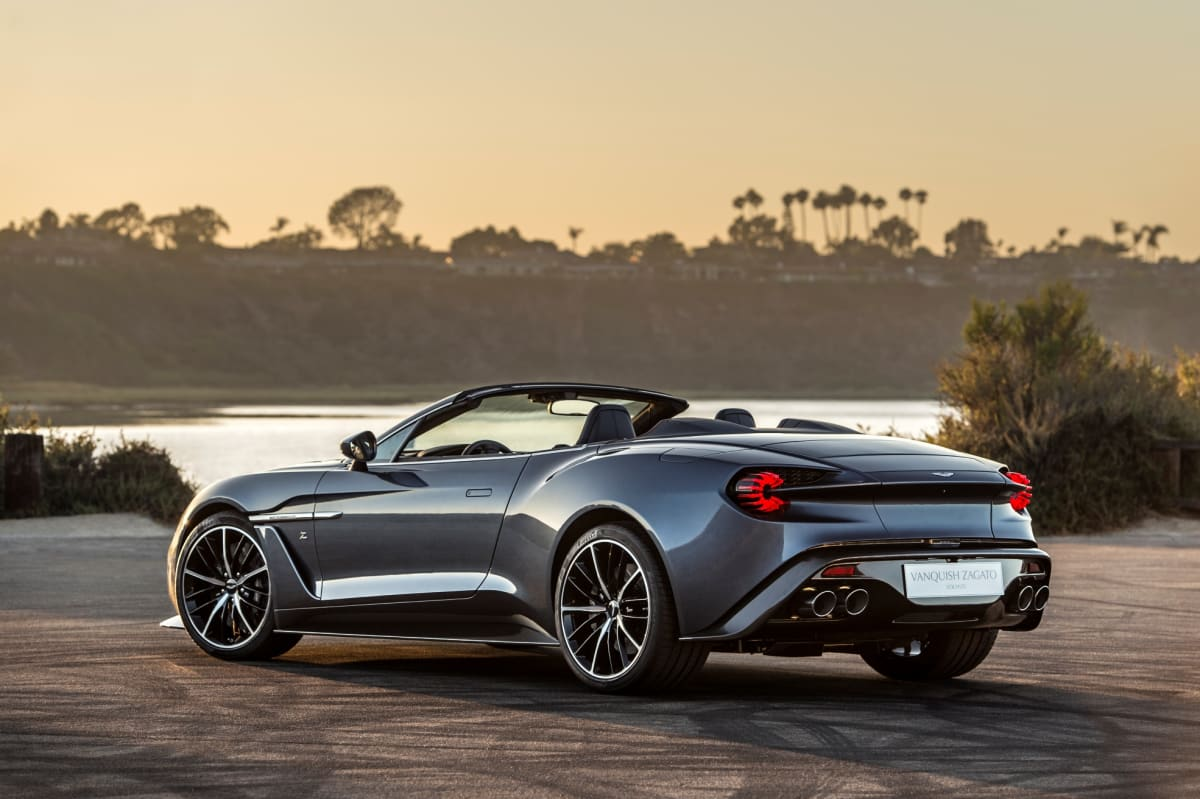 Two New Vanquish Zagato Models Unveiled