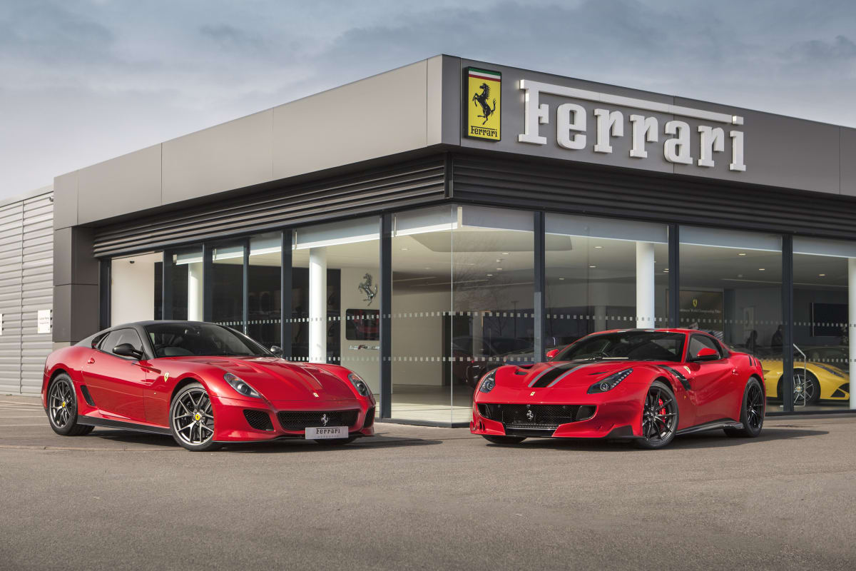 ferrari dealership sytner ferrari sales. Black Bedroom Furniture Sets. Home Design Ideas