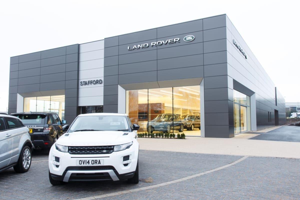 at rover dealerships land penske velar new detail landrover automall rr suv