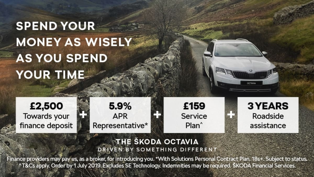 The SKODA Octavia Hatch & Estate are available on PCP ...