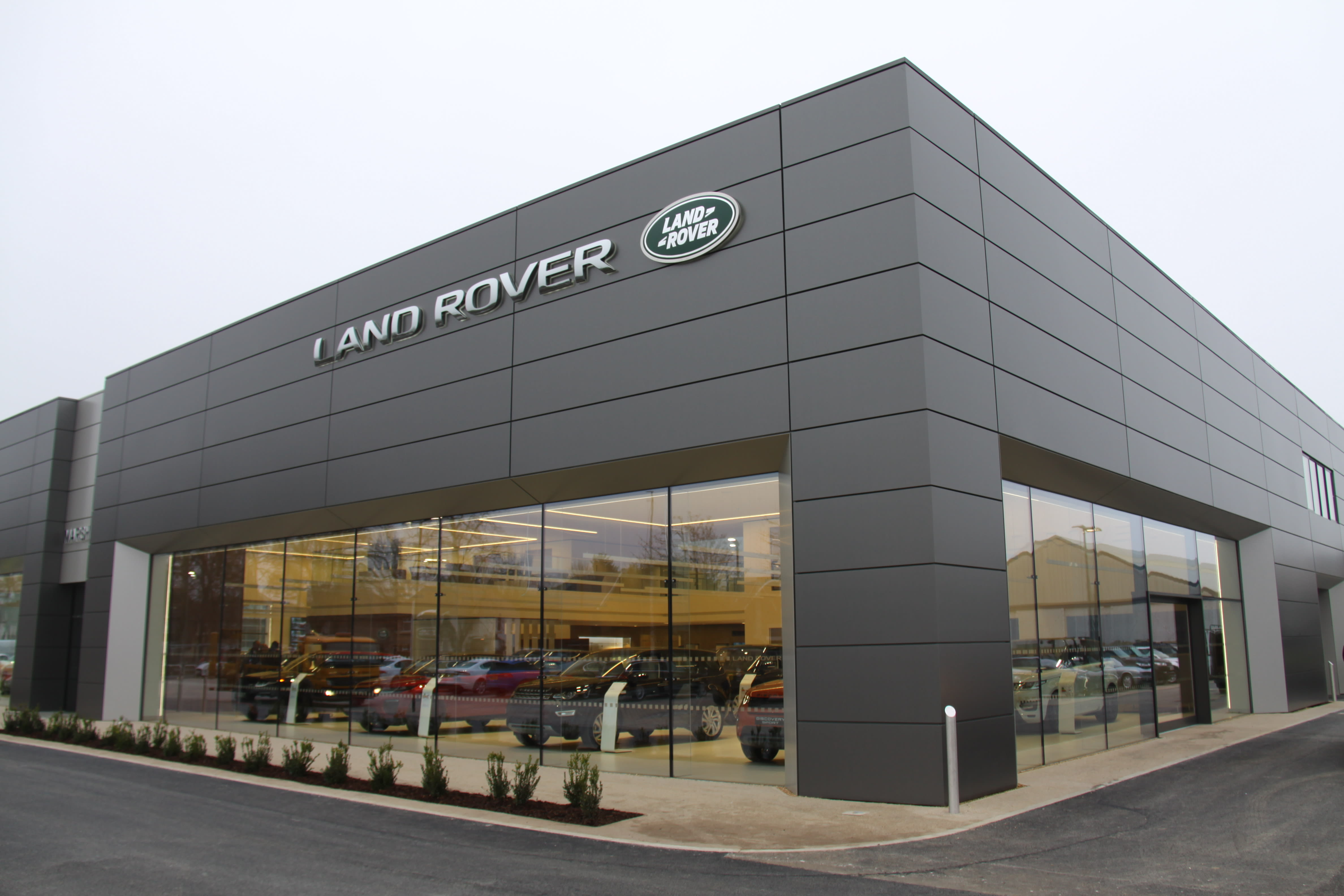 Contact Land Rover | Marshall Land Rover