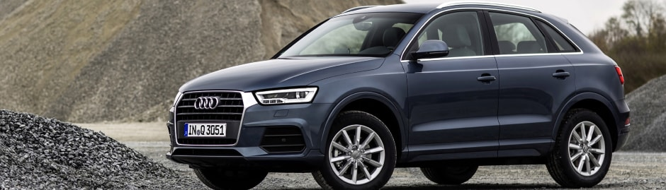 the new audi q3 range
