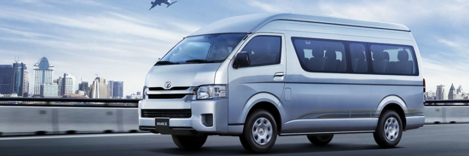 New Toyota Hiace 2018 Bus For Sale In The Uae Toyota