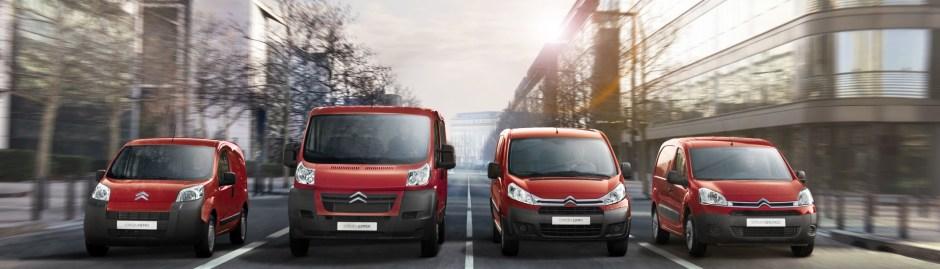 New Citroen Vans