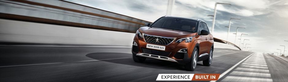 Yeomans Peugeot 3008 SUV Allure | from £233 +VAT