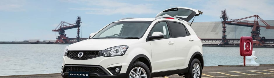 Ssangyong Korando From 210 Per Month On Personal Contract Hire