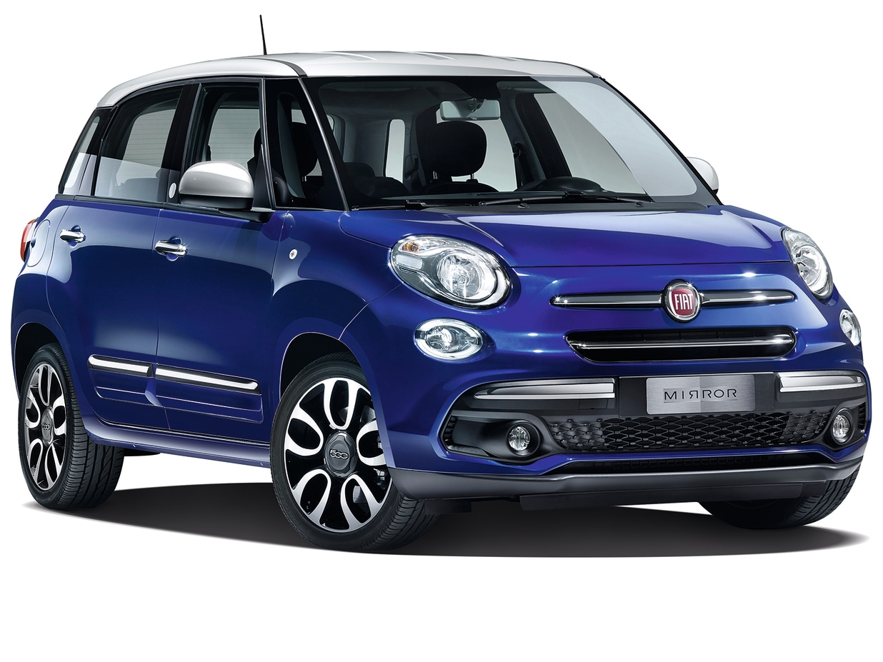 The New Fiat 500l Mirror From 178 Per Month
