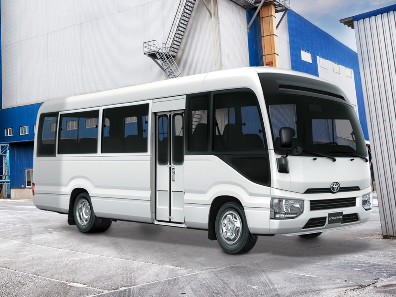 New Toyota Coaster 2019 For Sale In The Uae Toyota