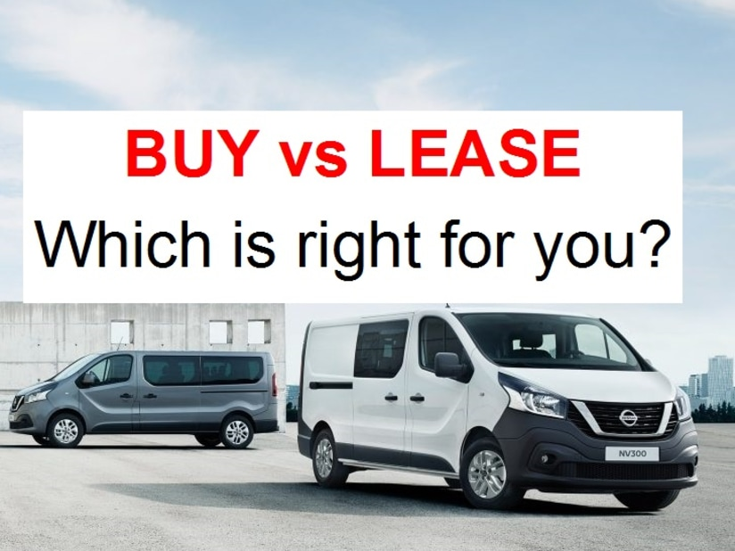 2437fb9f85 Should You Buy or Lease a New Van