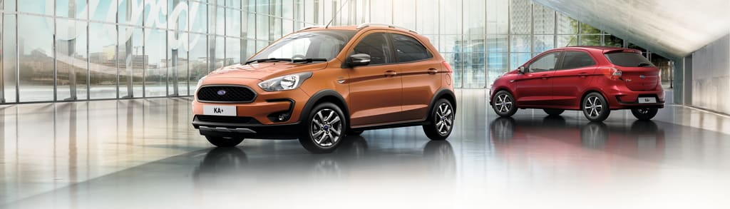 New Ford Ka Active Crossover