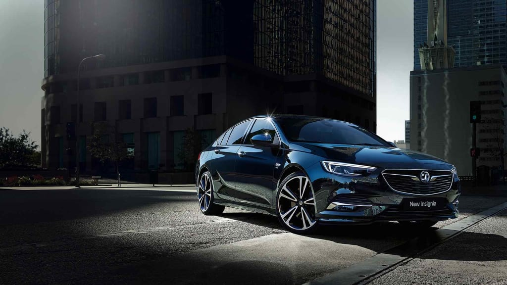 This Is Not A Car. This Is New Insignia. Available At Tony LeVoi