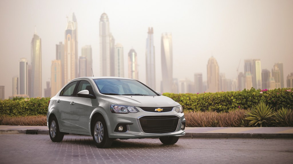 New Chevrolet Aveo 2017 Saudi Arabia Ksa Al Jomaih Automotive