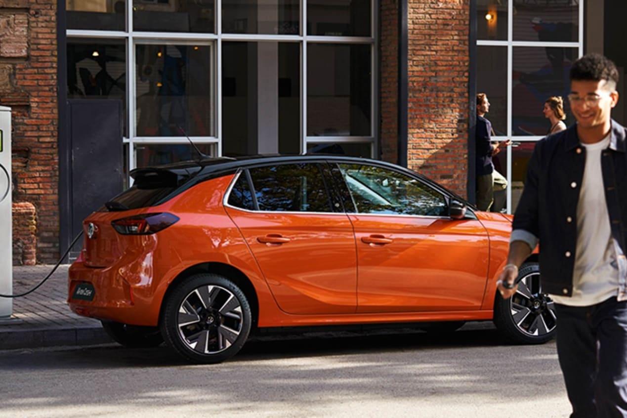 Orange All-New Vauxhall Corsa-e