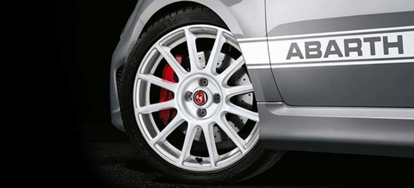 Abarth 595 Esseesse Wheel