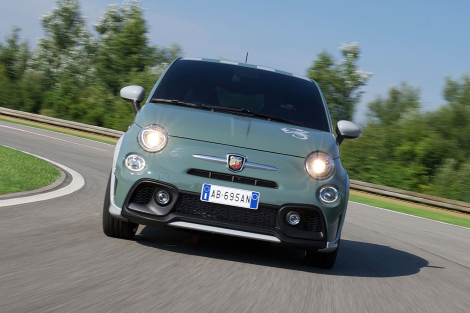 Abarth 695 70th Anniversary Koni Shock Absorbers