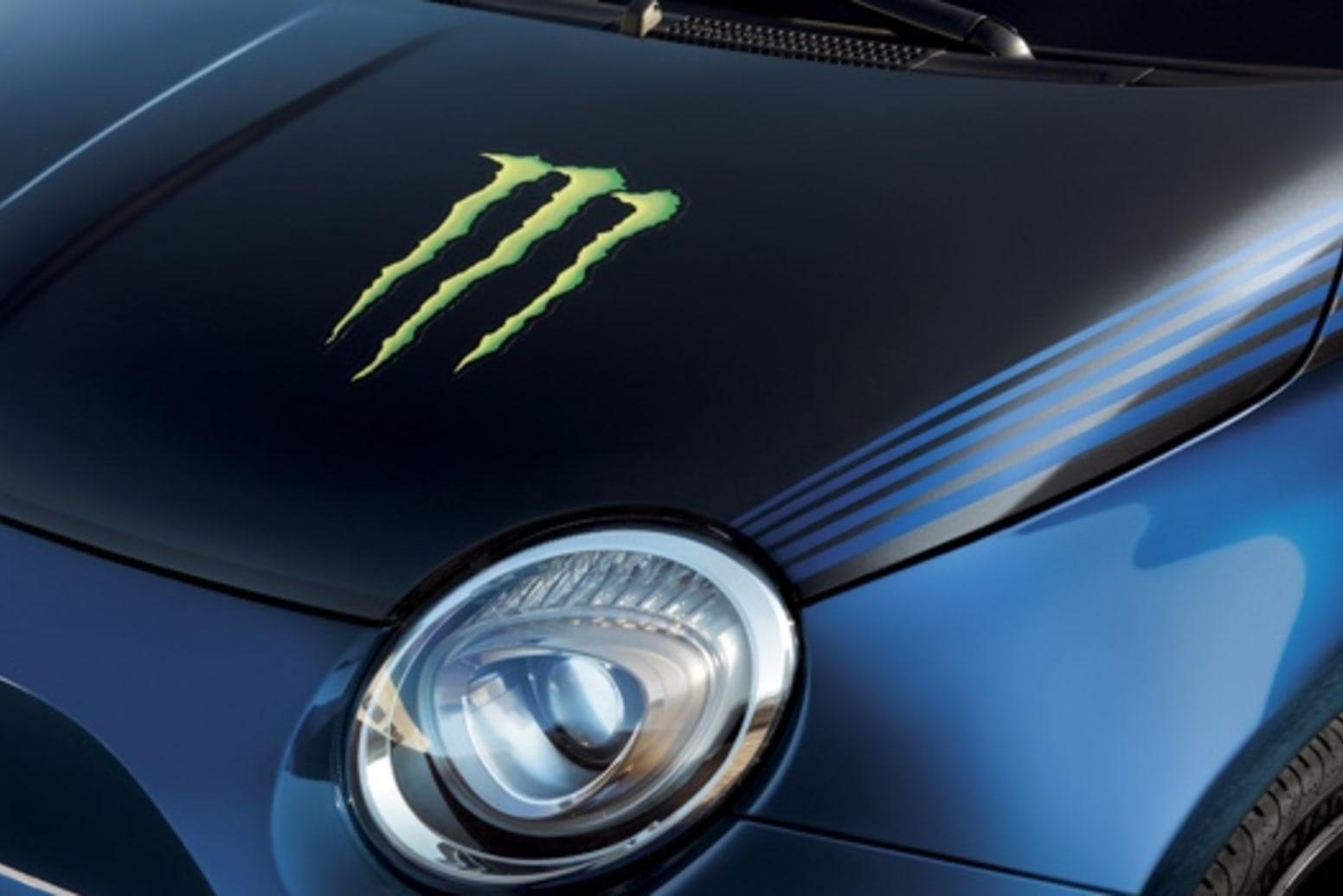 Abarth 595 Monster Energy Yamaha Front Headlights