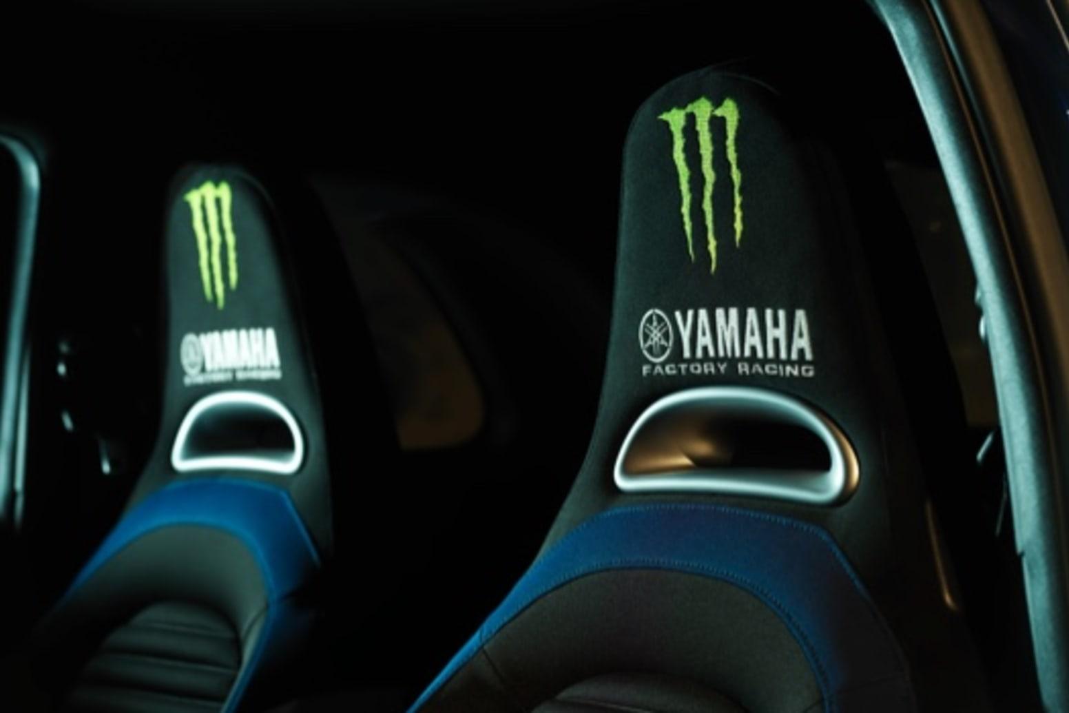 Abarth 595 Monster Energy Yamaha Interior Seats