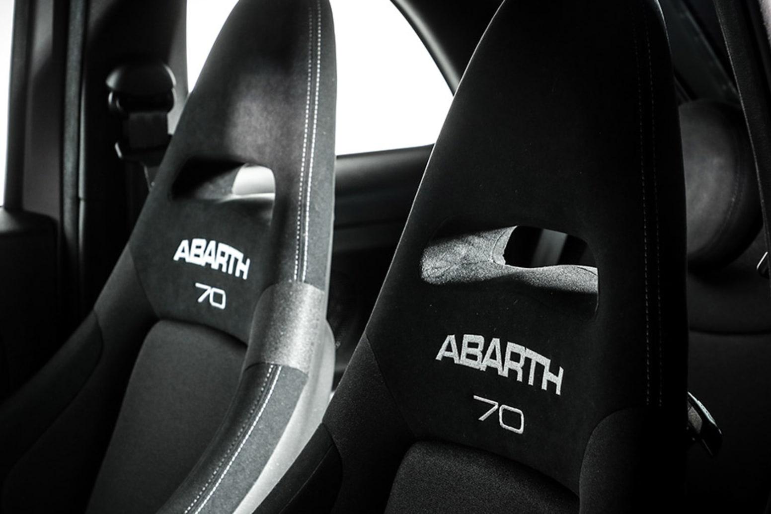 Abarth 595 Pista Interior Seats