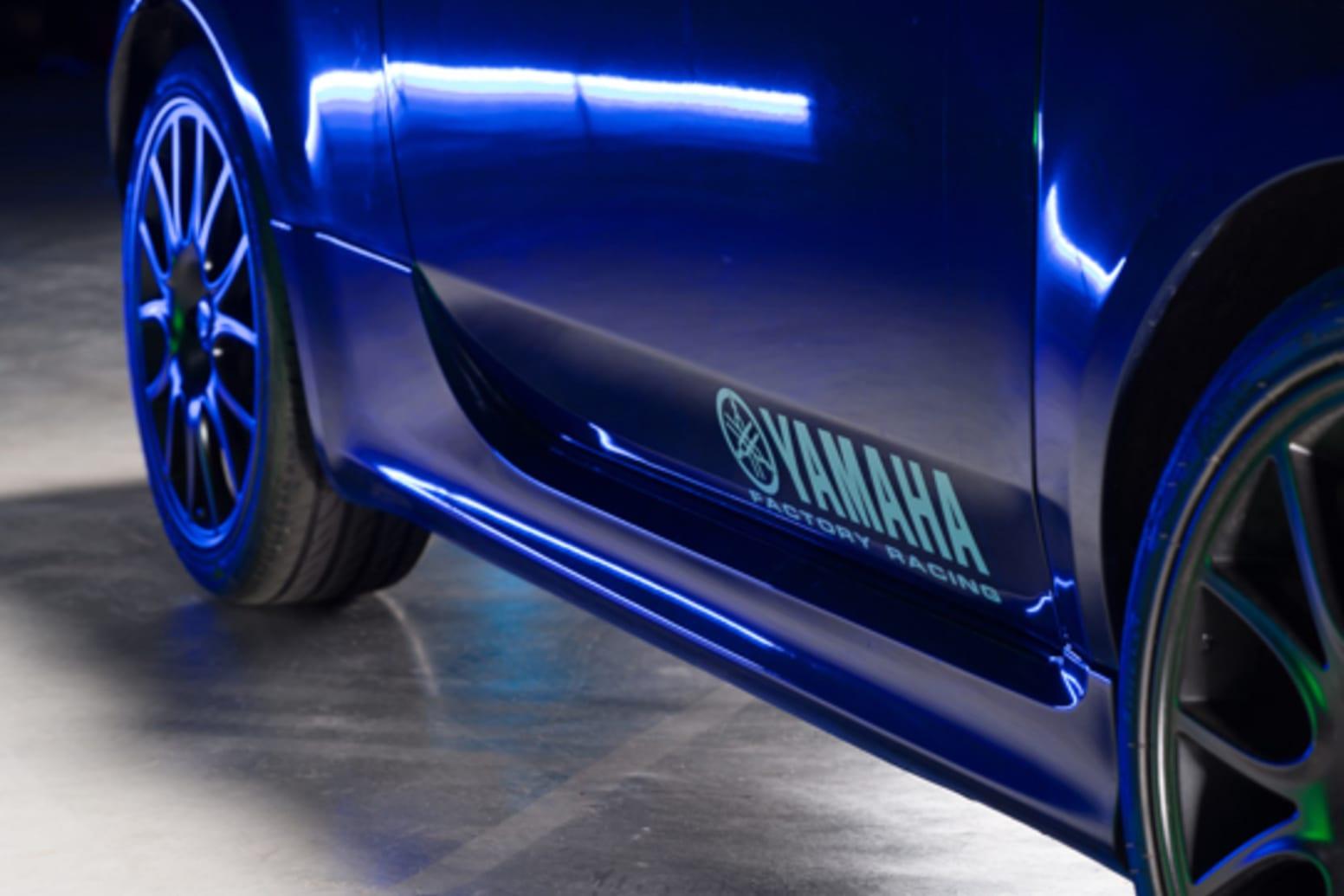 Abarth 595 Monster Energy Yamaha Side Wheel