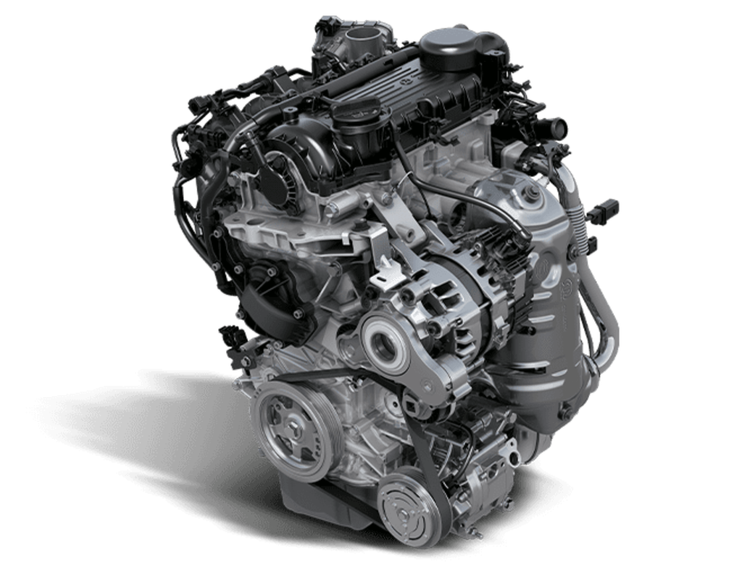 Fiat 500 Hybrid Engine