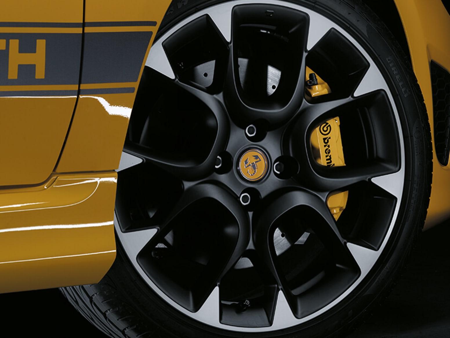 Abarth 595 Competizione Wheel