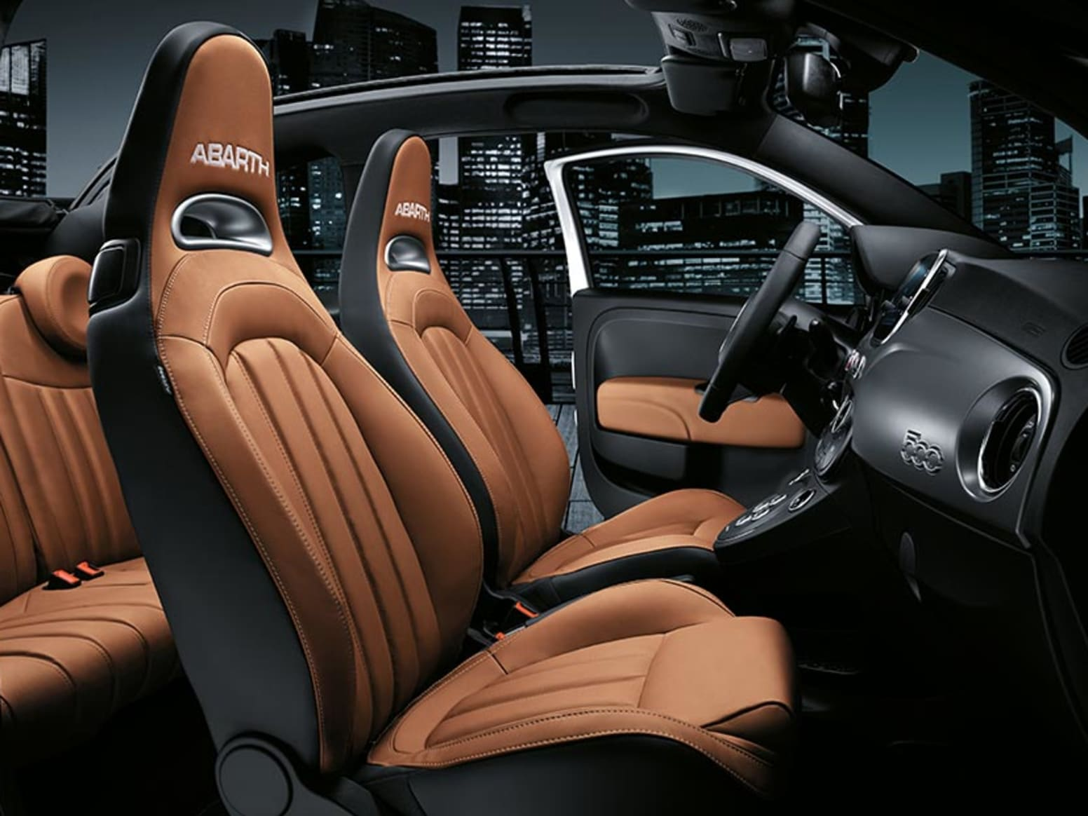 Abarth 595 Turismo Interior Seats