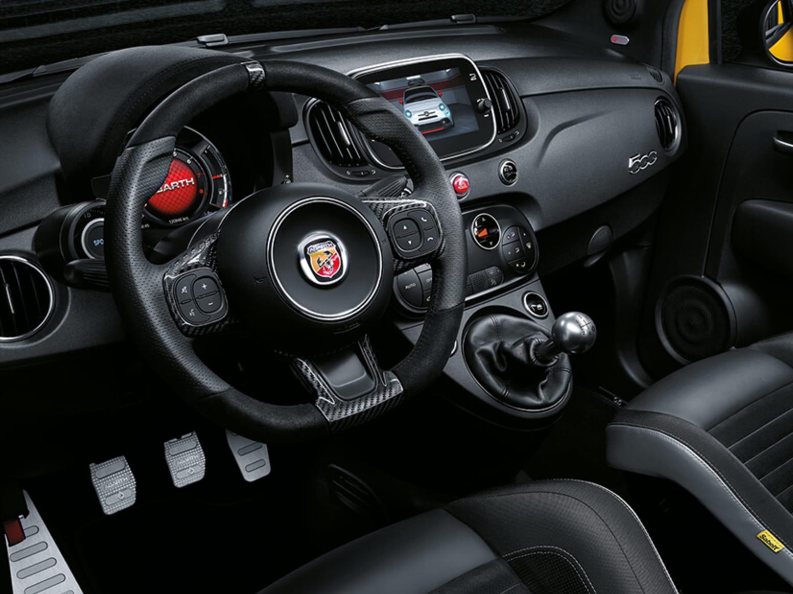 Abarth 595 Competizione Steering Wheel