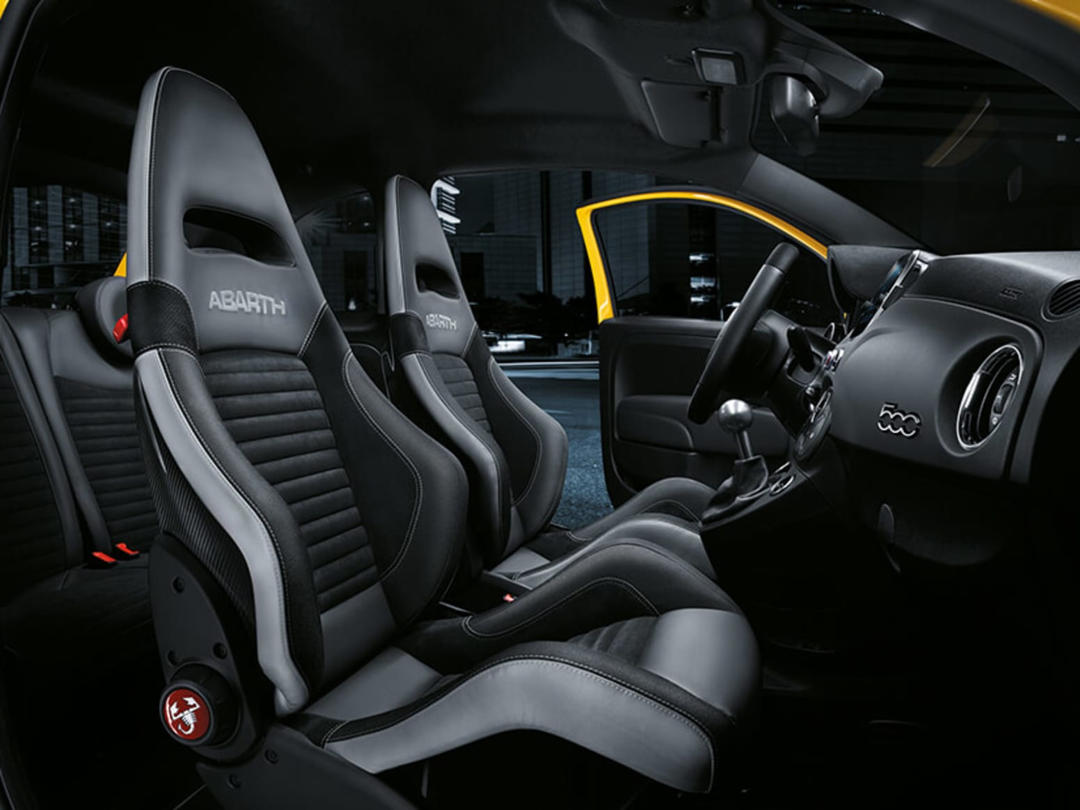 Abarth 595 Competizione Interior Seats