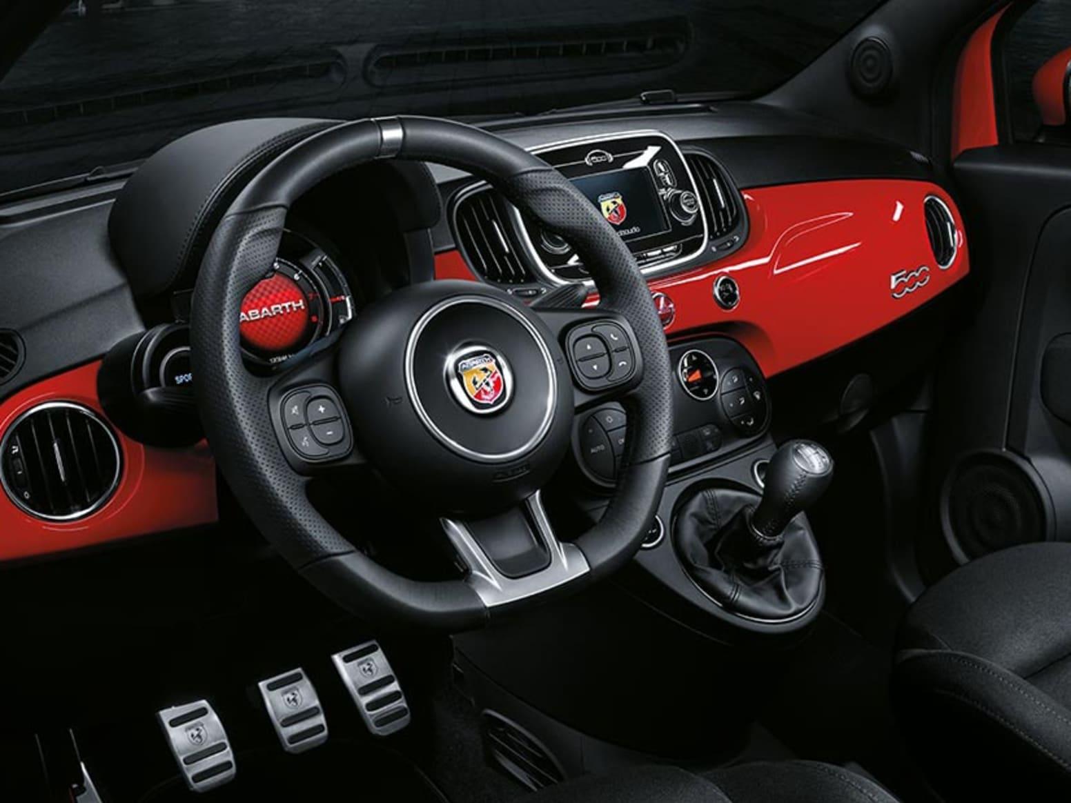 Abarth 595 Interior Steering Wheel