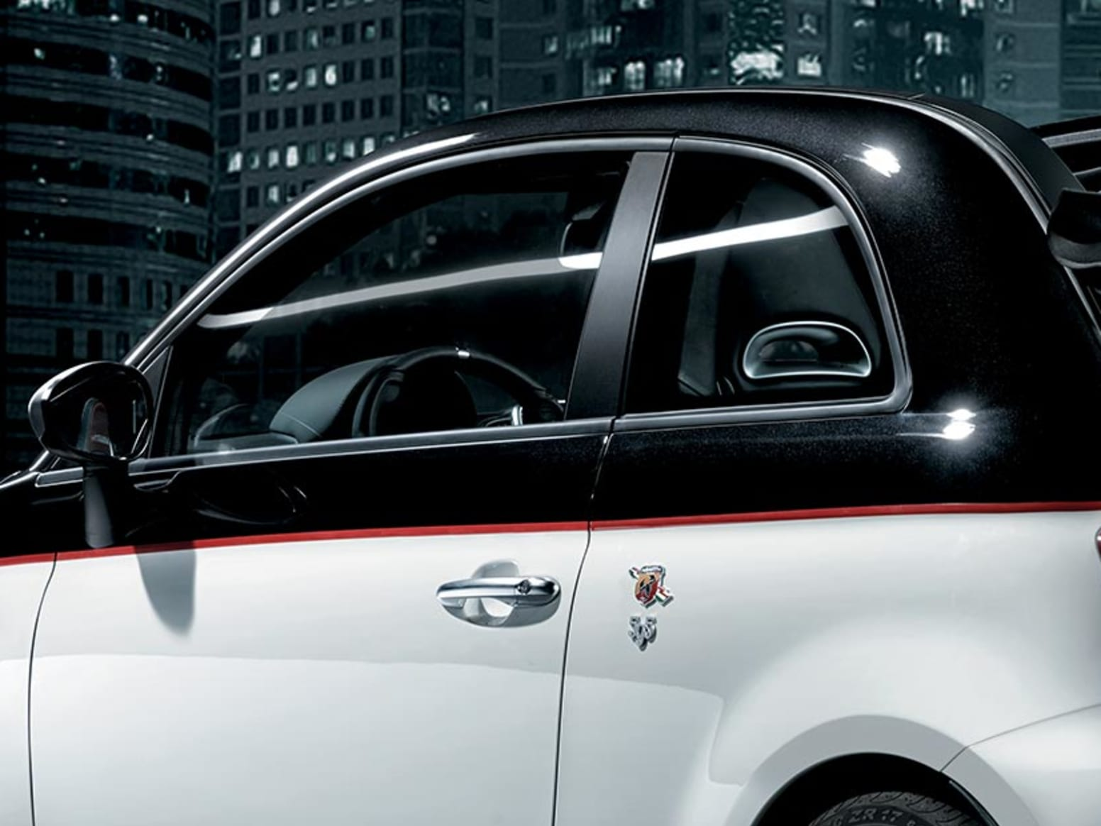 Abarth 595 Turismo Side Door