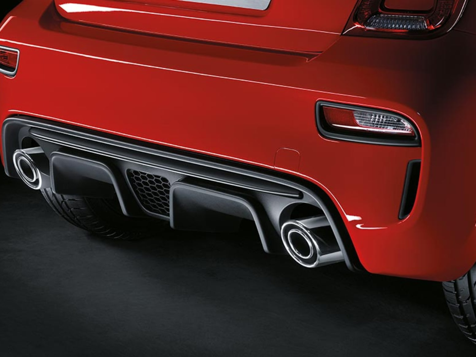 Abarth Dual Exhaust