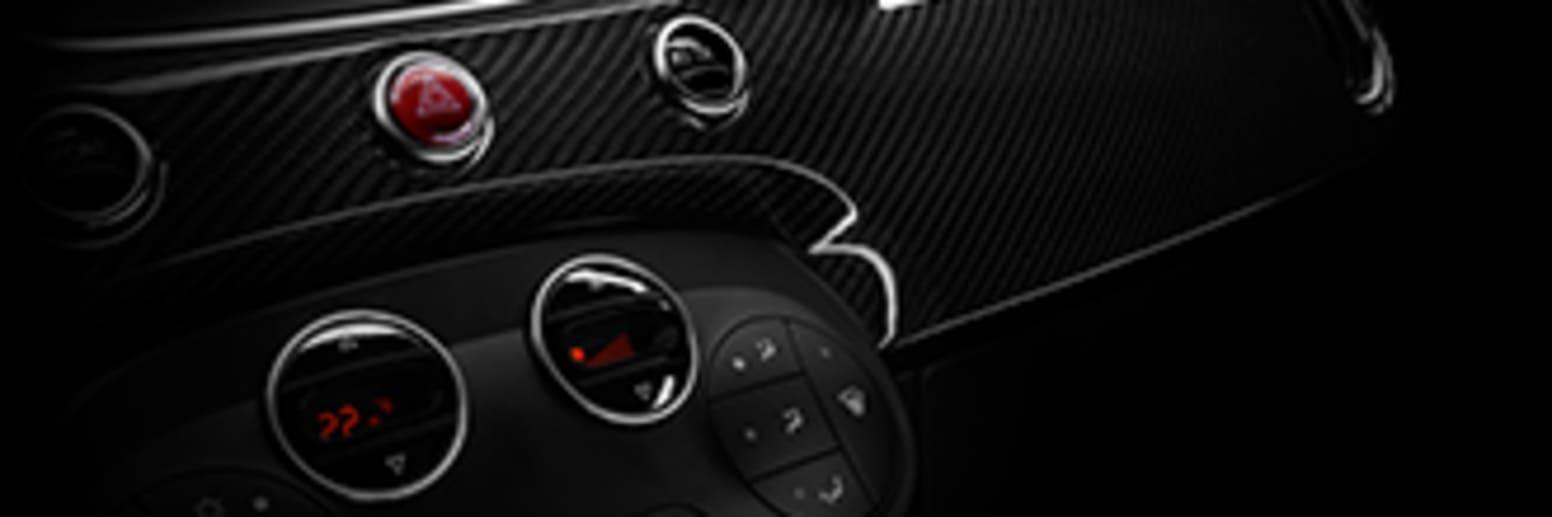 Carbon Fibre Dashboard