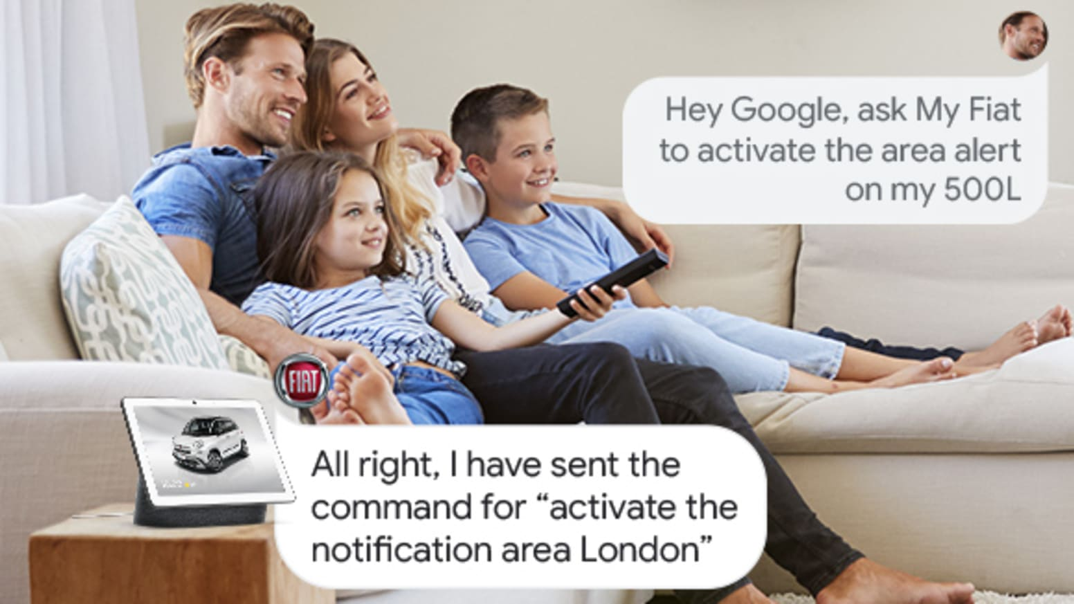 The power of voice commands