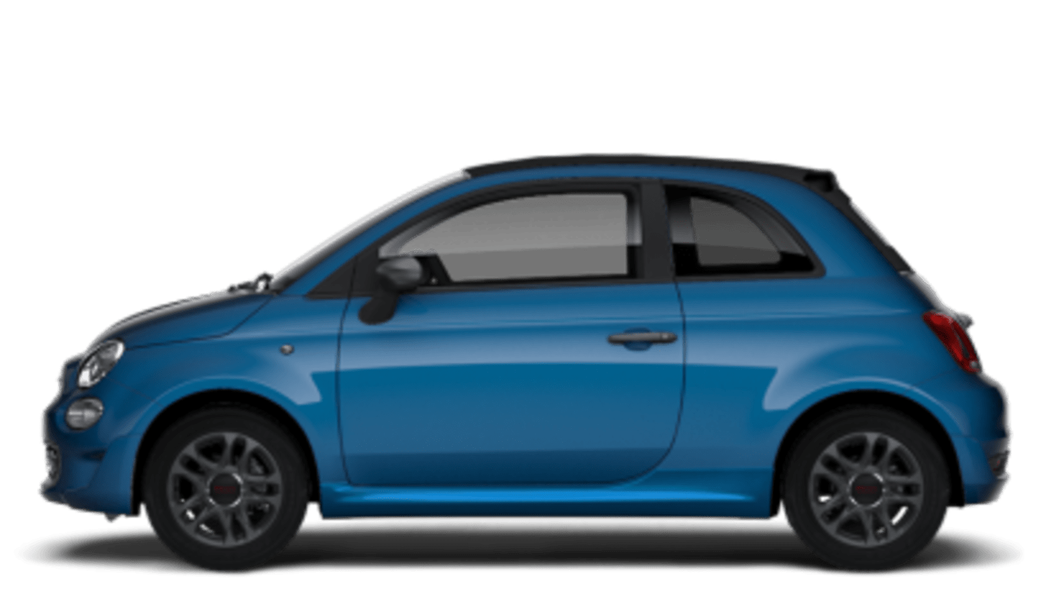 Fiat 500C Sport Side Exterior