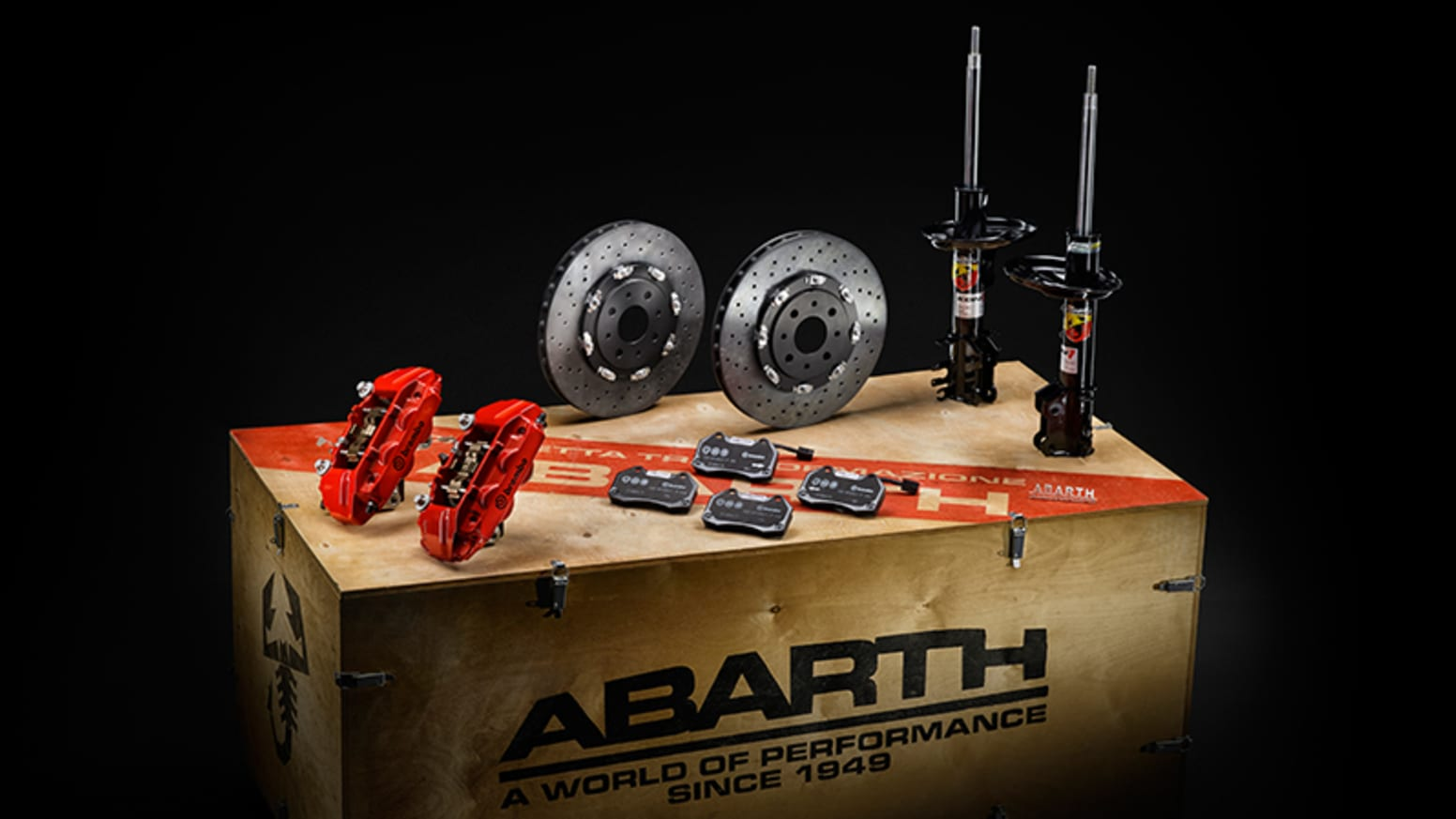 Abarth Exhaust Kit