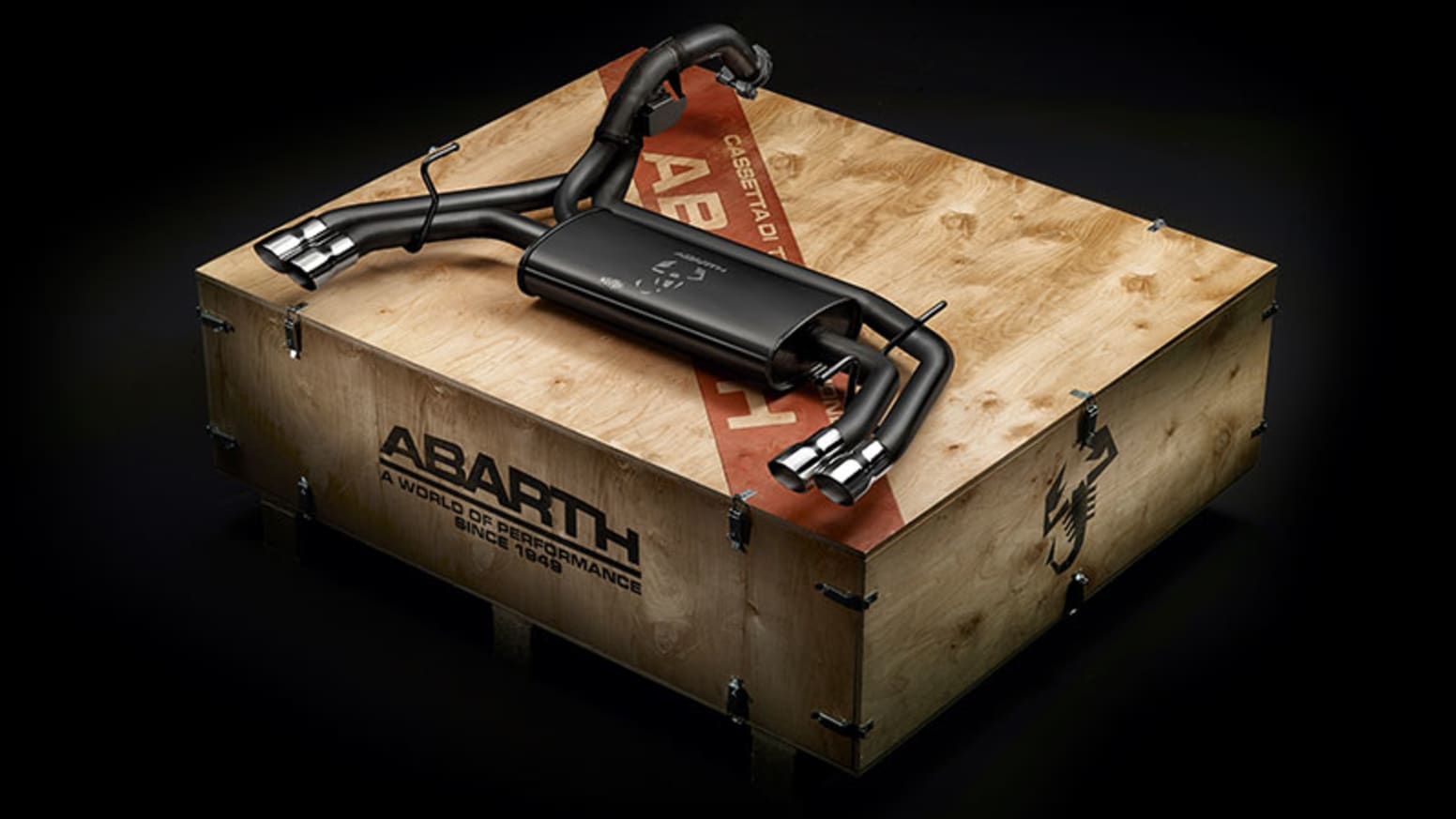 Abarth Exhaust System Kit
