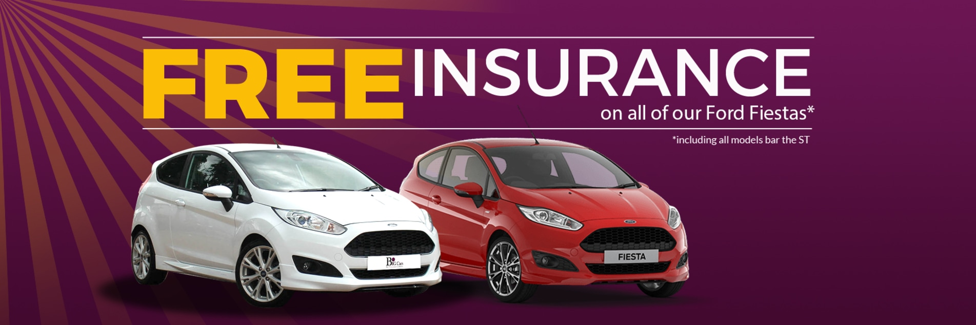 Ford Fiesta With Free Insurance