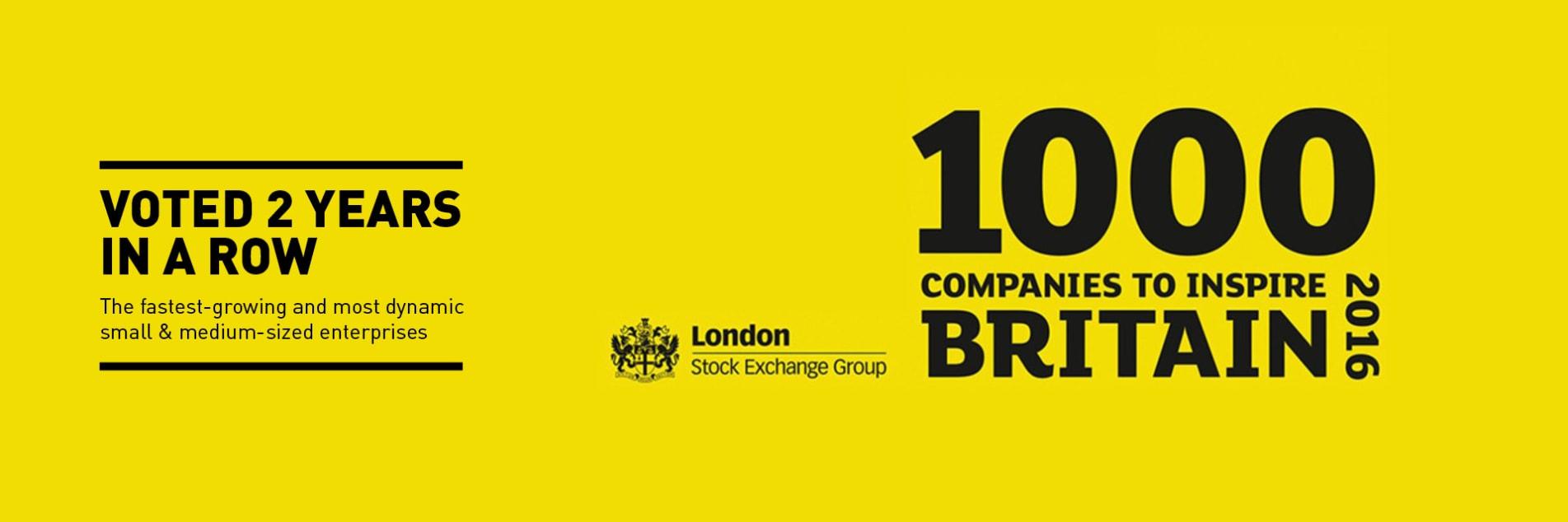 1000 companies to inspire