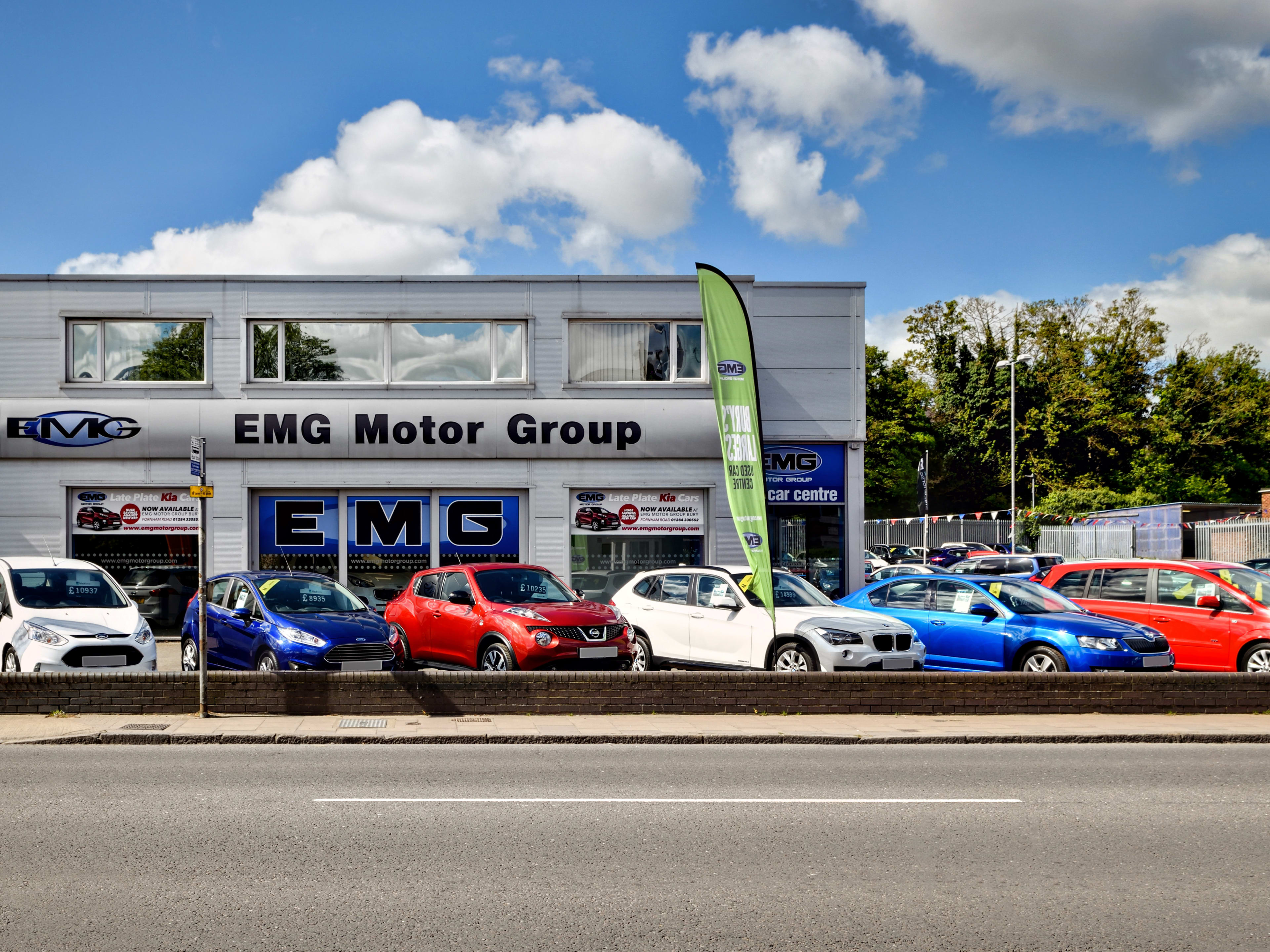 Edmunds What'S My Car Worth >> Contact Us In Bury St Edmunds Service Emg Motor Group