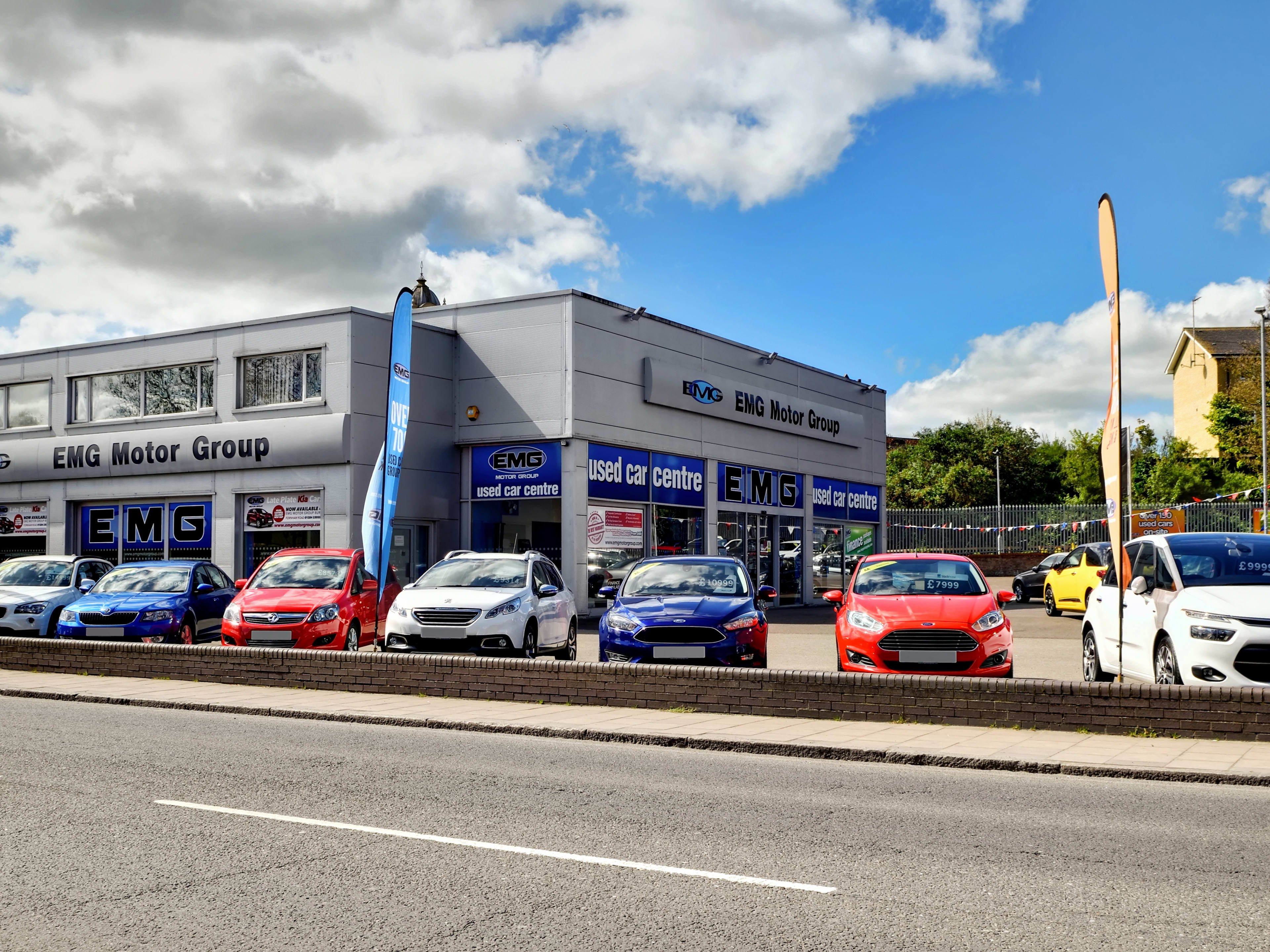 Contact Us In Bury St Edmunds Emg Motor Group