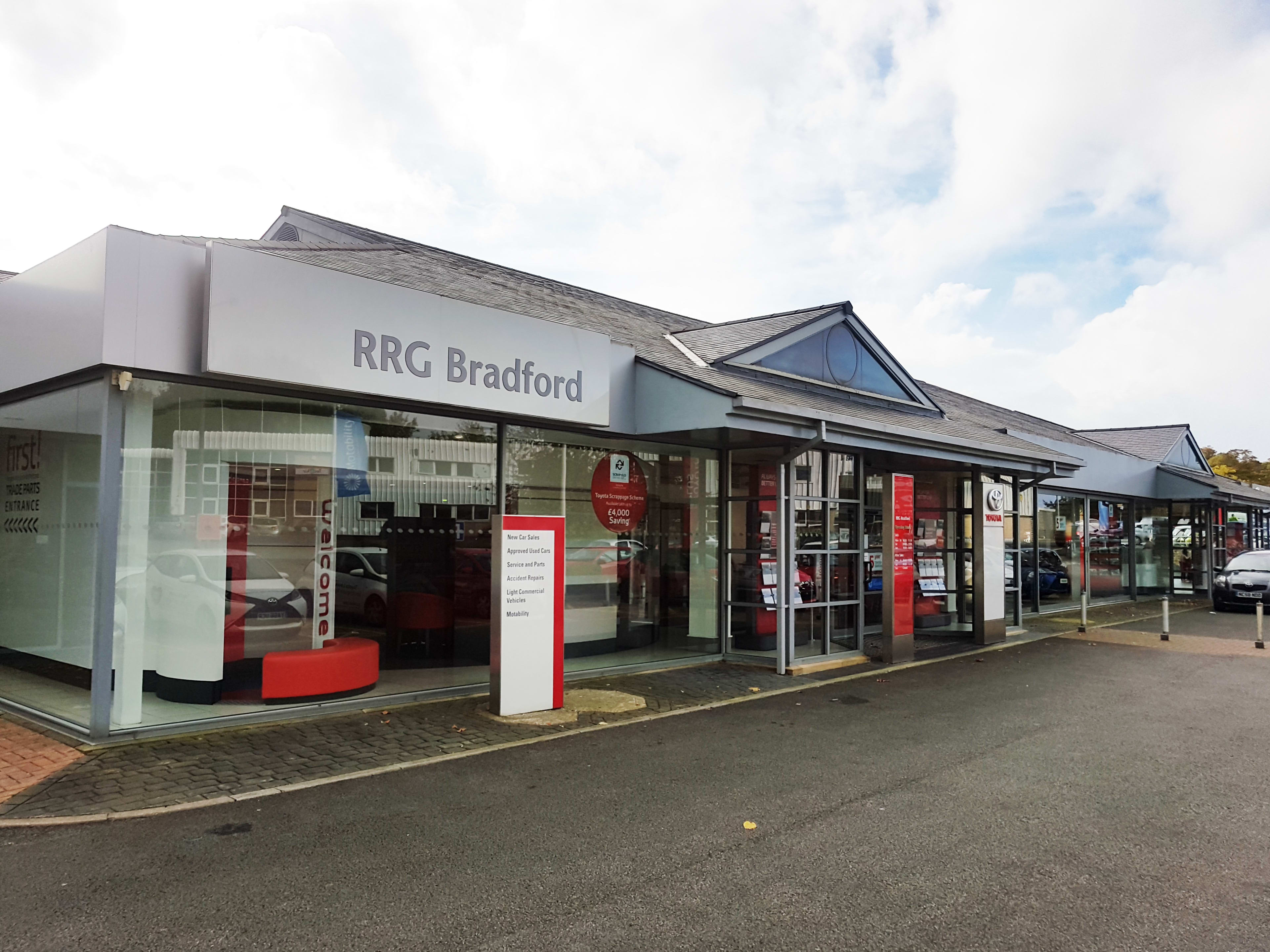 Contact Us In Bradford Rrg Toyota