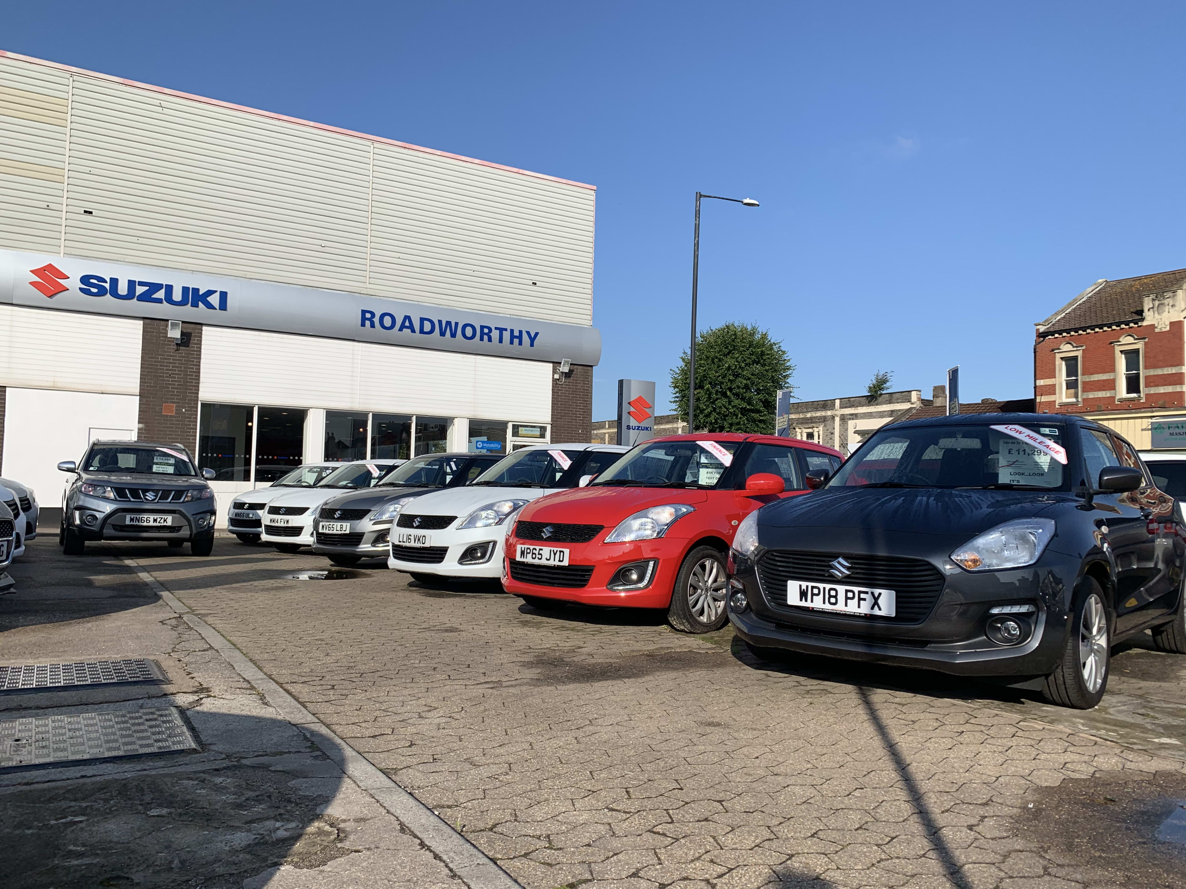 Suzuki Car Dealership >> New Suzuki Cars Bristol Roadworthy Bristol