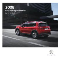 Prijslijst Peugeot 2008