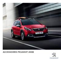 Brochure accessoires Peugeot 2008