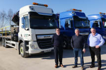 f1e6729534 Bickford Truck Hire receive new DAF s to increase their hire fleet options.