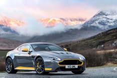 Grey Aston Martin V12 Vantage S